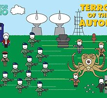 Mini Doctor Who - Terror of the Autons by MovingMedia