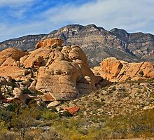 Little red rock on stage-Red rock canyon by mypic