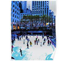 Winter Skating Poster