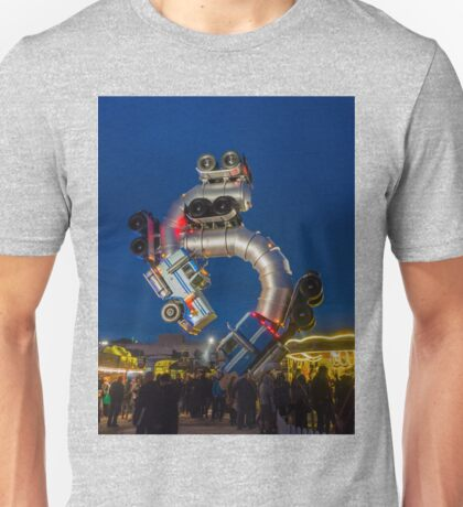 Mike Ross's Big Rig Jig at Banksy's Dismaland Unisex T-Shirt