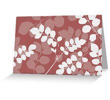 Lee Lee Ingram's 'Acrylic Leaf' Greeting Card