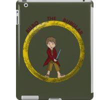 Bilbo the Burglar iPad Case/Skin