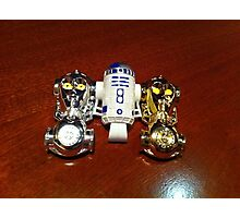 R2D2 and C3PO Photographic Print