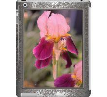 Tall Bearded Iris named Indian Chief iPad Case/Skin