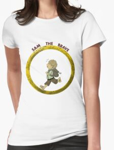 Sam the Brave Womens Fitted T-Shirt