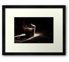 A basket of light Framed Print