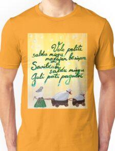 Velc pelite Latvian folk song - lullaby Unisex T-Shirt