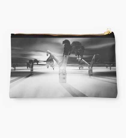 Alien Forest and Long Shadows Studio Pouch