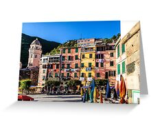 DownTown Vernazza Greeting Card
