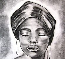 African Queen by Artbykris