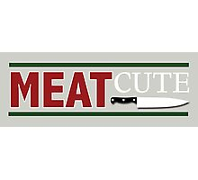 Meat Cute Photographic Print