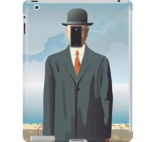 Grandson of Man (after Rene Magritte) iPad Case/Skin