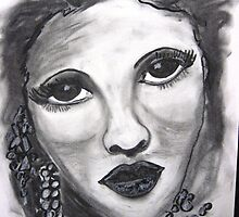 Drew Barrymore by Artbykris