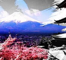 Japan - Fuji Mountain Sticker