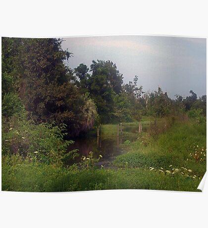 Bucolic Landscape Poster