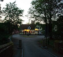 The Peacock Inn, Chelsworth, Suffolk - Evening by Christopher Cullen