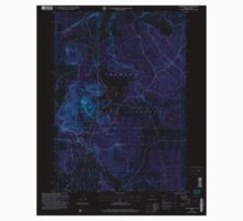 USGS Topo Map Oregon Foster Butte 279936 2004 24000 Inverted Kids Tee