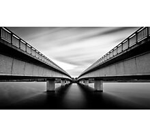 Commonwealth Bridge (Black and White) Photographic Print