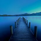 Coniston's blue evening by Steve Pereira