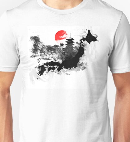 Abstract Japan Unisex T-Shirt