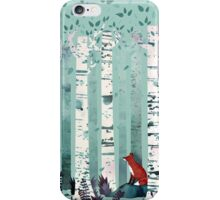 The Birches iPhone Case/Skin