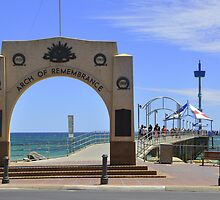 Australia Day  - Brighton Jetty, South Australia by chijude