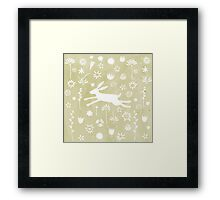 Hare in the Meadow Framed Print