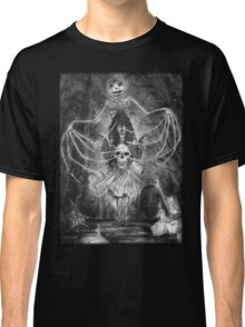 Watch Out For The Ghouls During Halloween Classic T-Shirt