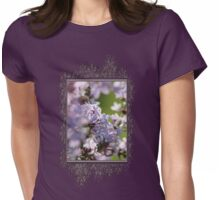 Common Purple Lilac Womens Fitted T-Shirt