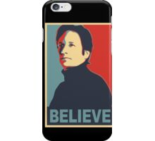 FOX MULDER BELIEVE iPhone Case/Skin