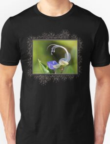 Clerodendrum Ugandense or Blue Butterfly Bush Unisex T-Shirt