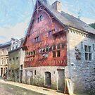Durbuy - La Halle aux Blés  by Gilberte