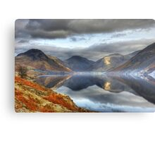 Wastwater and the Wasdale Fells Metal Print