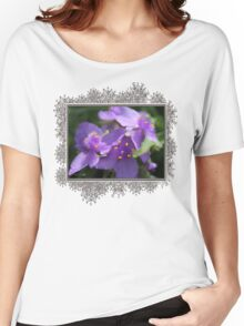 Tradescantia named Blue Stone Women's Relaxed Fit T-Shirt