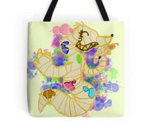 Happy Worm/Mouse Artist Tote Bag