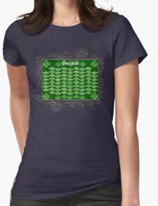 Good Luck Womens Fitted T-Shirt