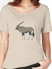 Oryx Antelope Women's Relaxed Fit T-Shirt
