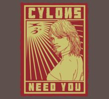 Cylons need you by thehappyiceman7