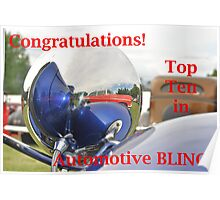 Automotive BLING! Top Ten Banner Poster