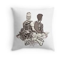 We are the quiet ones Throw Pillow