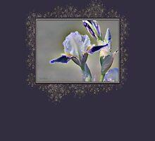Miniature Tall Bearded Iris named Consummation Women's Tank Top