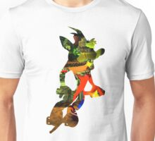 Crash Bandicoot in Pogo Unisex T-Shirt