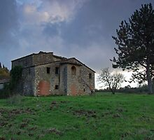 Farmhouse Ruin in Chianti by Matt Bishop