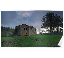 Farmhouse Ruin in Chianti Poster