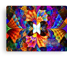 a little something fishy Canvas Print