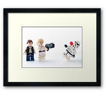 Great, kid! Don't get cocky Framed Print