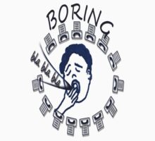 T-shirt - Boring by haya1812