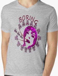 T-shirt - Boring 2 Mens V-Neck T-Shirt