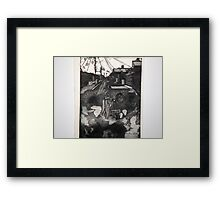 It's a long lane that has no turning Framed Print