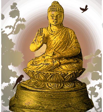 Golden Buddha Sticker